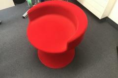 3D-Möbel-beflockt